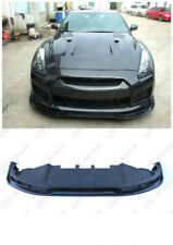 Carbon AS Style Front Lip w/ Undertray For 2008-2010 Nissan R35 GTR CBA
