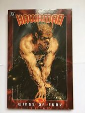 Hawkman Vol 3 Wings of Fury by G. Johns (Paperback, 2008) Graphic Novel DC Comic