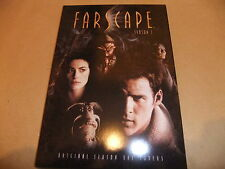 FARSCAPE SET OF 10 LARGE POSTCARDS DVD SERIES 1 UK EXCLUSIVE PROMO