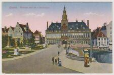 Germany postcard - Emden, Rathaus und die 3 Denkmaler (A5)