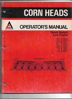 Original Allis Chalmers M430 LM435 438 440 537 630 Corn Heads Operators Manual