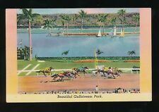 USA Florida Horse Racing GULFSTREAM PARK used 1947 PPC