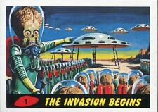 Mars Attacks Heritage Complete 80 Card Base Set [Inc 2 Chase Sets]