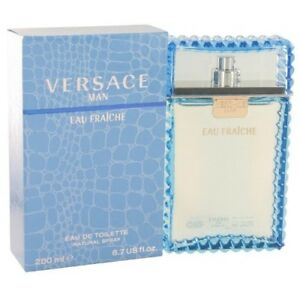 Versace Eau Fraiche Men 6.7 OZ 200 ML Eau De Toilette Spray Nib Sealed