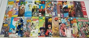 N) Lot of 24 Various Comic Books DC Marvel Eternity Eclipse First