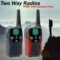 UKDJ 12Km Midland G5 C Walkie Talkie 2 Two Way VOX Radio PMR 446 Licence Free