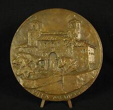 Medaille villa Médicis Medici palais mont Pincio 165mm J Boyer Rome Roma medal