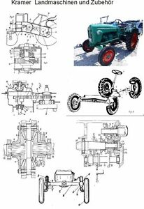 Kramer Traktoren und Fahrzeuge Technik auf 440 Seiten
