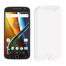 2 x claro Protector LCD Film Protector de Pantalla para Teléfono Móvil Motorola Moto G4 Plus