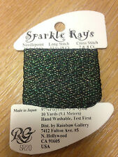 Sparkle Rays cross stitch thread yarn floss fiber ribbon needlepoint embroidery