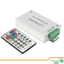 2.4G RF 4Channels  DC12V/24V 28 KEY LED RGBW Remote Controller with Touch Screen