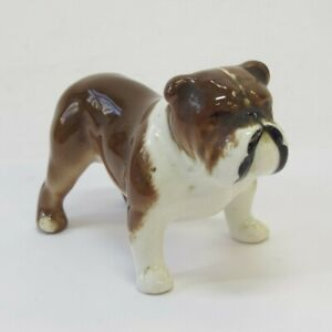 Beswick Bosun Bulldog Figurine 3 Inch Porcelain Dog Ornament Vintage Collectable