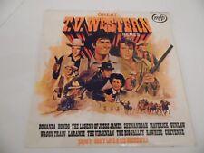 """Gran T.v. Western Temas. Geoff amor y su Orquesta. 12"""" 33 Rpm Disco Lp"""