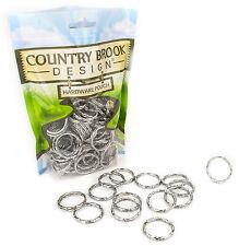 25 - Country Brook Design® 1 Inch Designer Keychain Split Rings