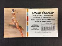 Vintage Pinup Advertisements Cleans Company  promo card Combine Shipping