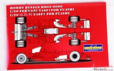 1/20 scale Ferrari 248F1 detail up set by Studio 27 & Hobby Design for Fujimi