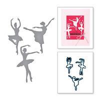 Stanzschablone Ballett Tanzen Hochzeit Weihnachts Geburtstag Oster Album Karte