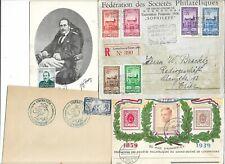 LUXEMBOURG 33 FDC et Cartes Maximum 1936 à 1959 (9 scans)