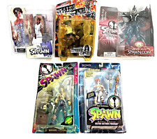 Spawn Action Figure Mixed Lot 5 Sealed McFarlane Toys Collectible Rising Stars