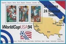 USA aus 1994 ** postfrisch Block 33 - Fußball WM ´94!