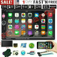 7 Inch Double 2 DIN Car FM Stereo Radio MP5 Player TouchScreen Bluetooth&Camera