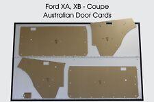 Ford XA, XB Falcon, Fairmont GT. Coupe, Hardtop, Door Cards. Blank Trim Panels.