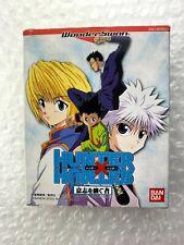 "Hunter X Hunter Ishi Wo Tsugu Mono ""Good Condition"" Wonderswan Bandai Japan"