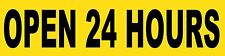 Open 24 Hours Sign Banner Auto Repair Ad 2'x8' Automotive Service Tire Store