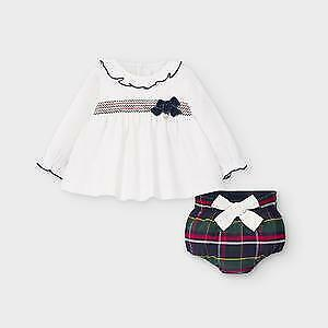 Mayoral Baby Girls 2 Piece Long Sleeve Spanish Suit (2213)