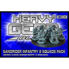 DP9 Heavy Gear Blitz! NuCoal Sandrider Infantry Pack (New) (Sealed)