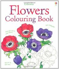 Flowers to Colour (Usborne Colouring Books),Sue Meredith