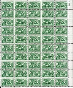 U.S. Mint Sheet Stamp #1026 3¢ General George S. Patton OGNH