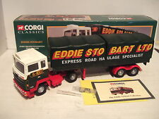 Corgi 23101 Ford Transcontinental Tilt Trailer for Eddie Stobart in 1:50 Scale.