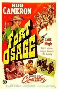 fort osage 1952 western rod cameron dvd
