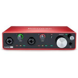Focusrite Scarlett 4i4 3rd Generation USB Audio Interface