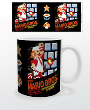 SUPER MARIO NES COVER 11 OZ MUG NINTENDO VIDEO GAMES CLASSIC TOAD YOSHI BOWSER!!