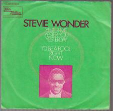 """7"""" Stevie Wonder Yester Me Yester You Yesterday 70`s Motown Soul"""