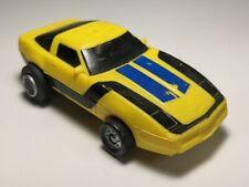 Vintage Ljn 1985 Yellow Chevy Corvette Speed Riders Rough Schaper Stompers Vhtf
