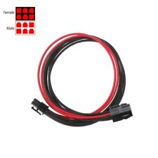 Sleeved Black&Red GPU 6Pin PCIE PCI Express Male to Female Power Extension cable