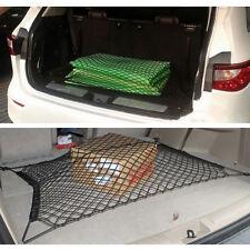 Universal Trunk Car Cargo Rear Net Mesh SUV Tidy Storage Elastic Nylon Luggages