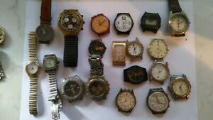 Collezione di 50 orologi  d'epoca marche diverse non funzionanti