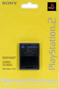 Sony Brand PS2 Memory Card Great Condition Fast Shipping