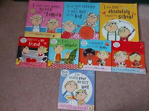 Charlie And Lola Paperback Story Book Bundle x8
