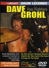 DRUM LEGENDS DAVE GROHL (RILEY) DVD; Grohl, Dave, Default setting - RDR0229