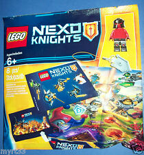 Lego 5004388 lot of 8 Nexo Knights army builder Minifigure + stickers polybag