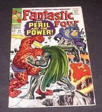 FANTASTIC FOUR #60 Fn+ 12¢ cover Marvel Comic   Dr. Doom