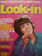 LOOK-IN MAGAZINE 21ST APRIL 1973 - DONNY OSMOND POSTER!