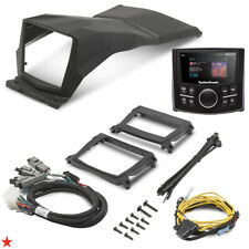 ROCKFORD FOSGATE X3-STAGE1 PMX-2 RECEIVER DASH KIT FOR CAN-AM MAVERICK X3 17-19