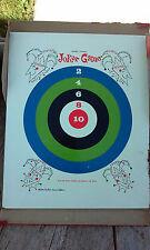 Vtg Joker Magnetic Dart Game 1964 Magic Wand Board and Box Bottom Len Cunningham