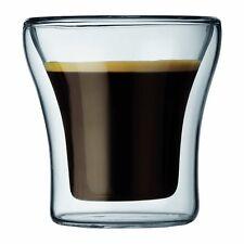 Bodum Assam Coffee Glass Set of 2 Double Wall 0.1 L